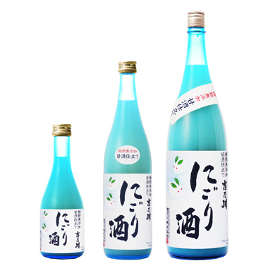 吉乃川 にごり酒 【10月蔵出し】