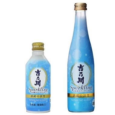 吉乃川 酒蔵の淡雪 スリムボトル缶/瓶 300ml