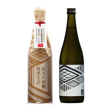 吉乃川 純米吟醸 原酒生詰 <蔵元栽培米 五百万石>【3月、10月蔵出し】